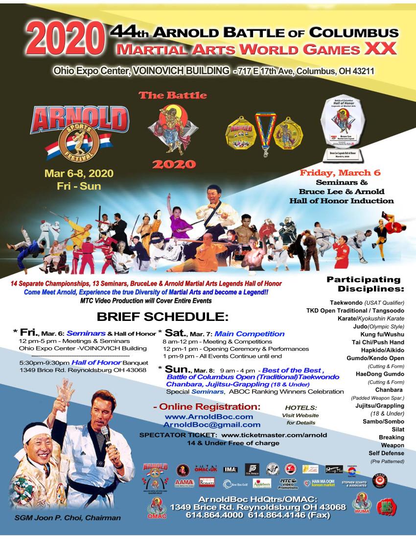 General ABOC 2020 Event Poster