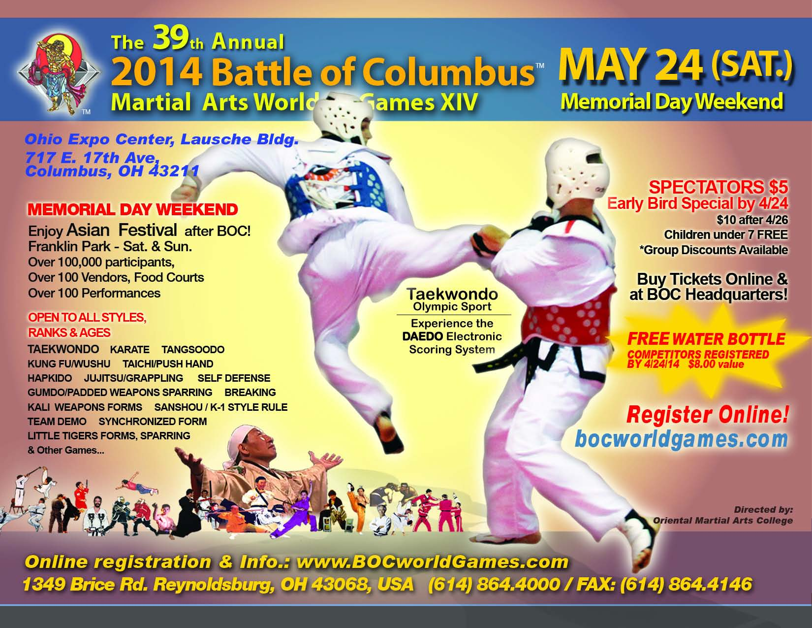Battle of Columbus 2014